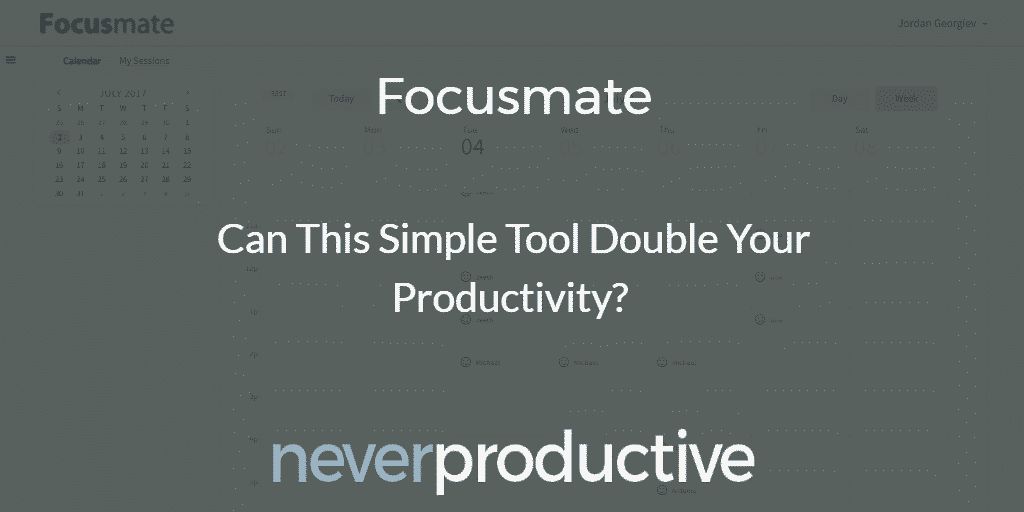 Focusmate: Can this simple tool double your productivity?