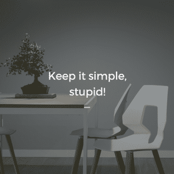 Keep it Simple, Stupid! Jordan Georgiev 6 — Never Productive