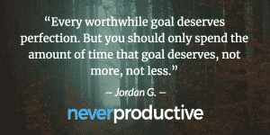 Home Page Jordan Georgiev 4 » Never Productive