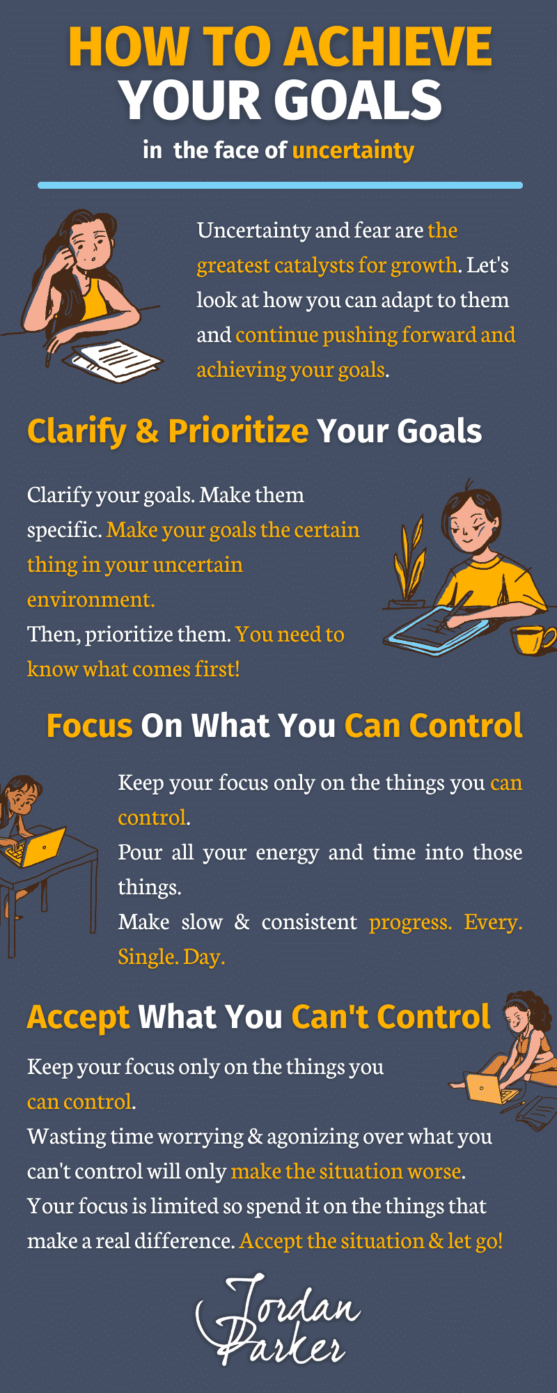 Never Productive How To Achieve Your Goals In The Face Of Uncertainty